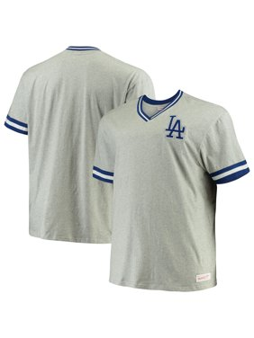 5a488f8b Product Image Los Angeles Dodgers Mitchell & Ness Big & Tall Overtime Win  V-Neck T-