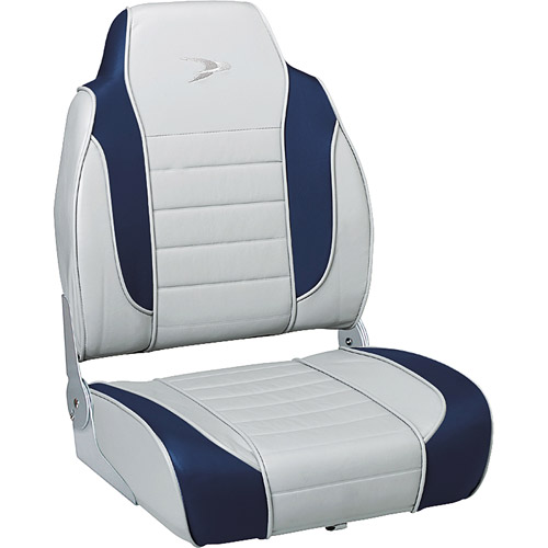 Wise Boat Seat, Grey/Navy