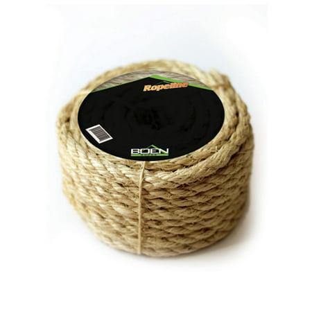 Boen Sisal 3-Strand Twisted Rope  3/8