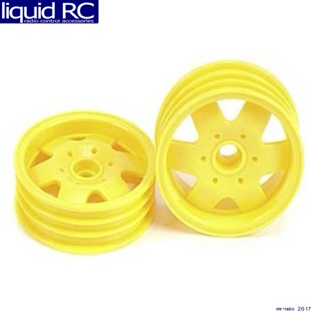 Tamiya 0555080 RC Front Wheels: DT-01 Fighter Buggy - (2 pieces)