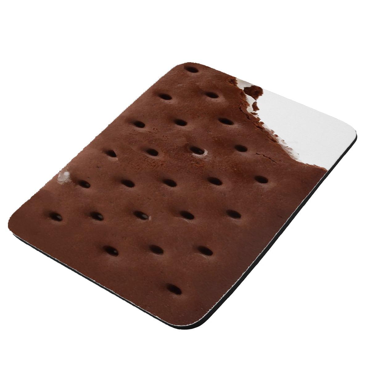 Ice Cream Sandwich - KuzmarK Mousepad / Hot Pad / Trivet