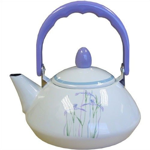 Corelle Impressions Shadow Iris Personal Tea Kettle 38 oz.