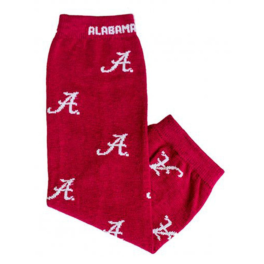 Little Big Fan Kids Junior University Of Alabama Leg Warmers
