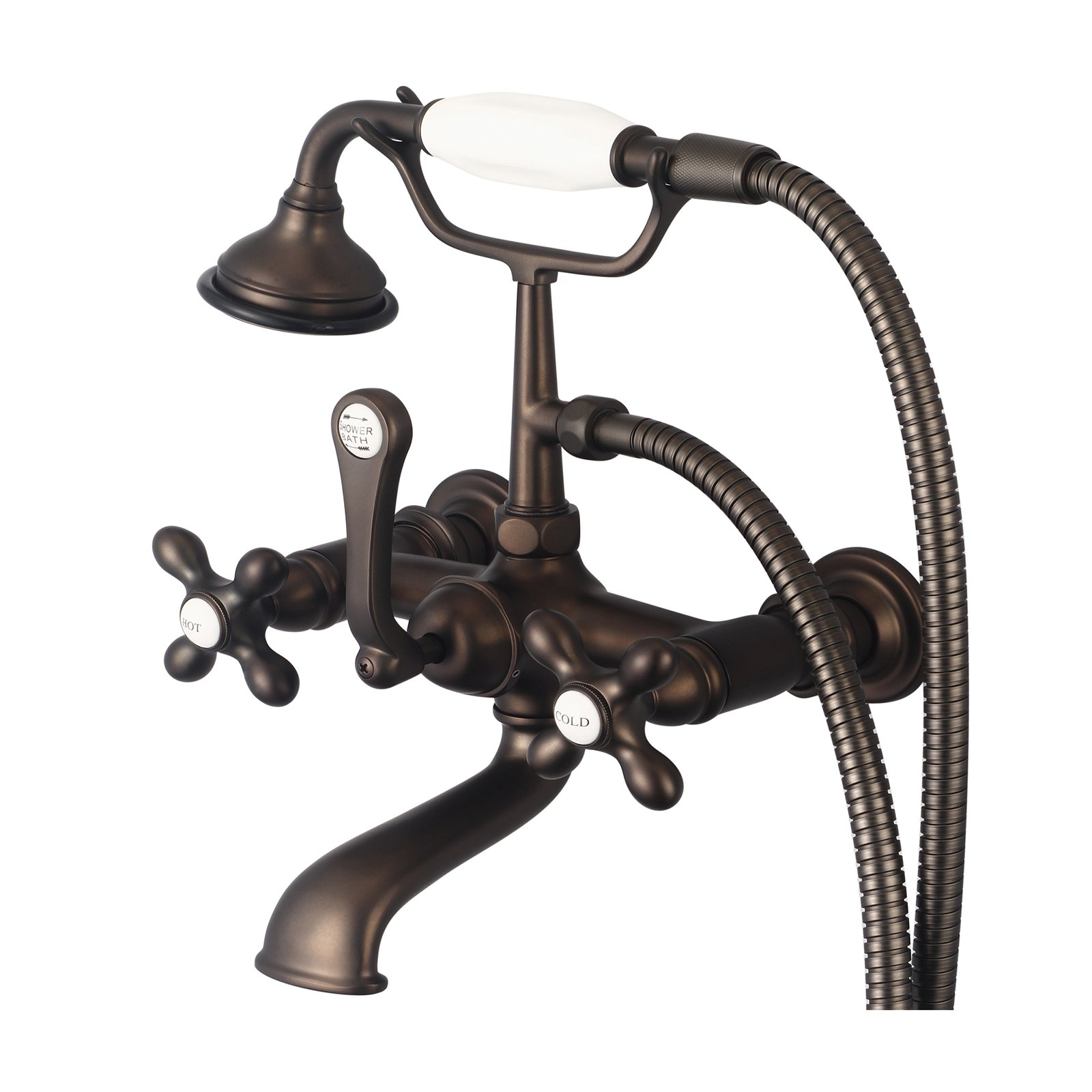 Water Creation Vintage Classic F6-0010 Wall Mount Tub Faucet