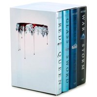 Red Queen: Red Queen 4-Book Hardcover Box Set: Books 1-4 (Hardcover)