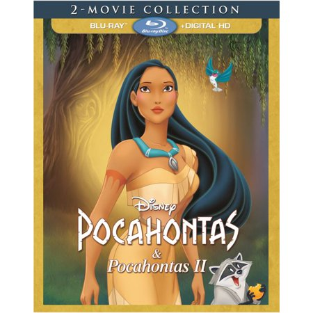 Pocahontas 2 Movie Collection (Blu-ray + Digital HD) (All Halloween Movies On Disney Channel)
