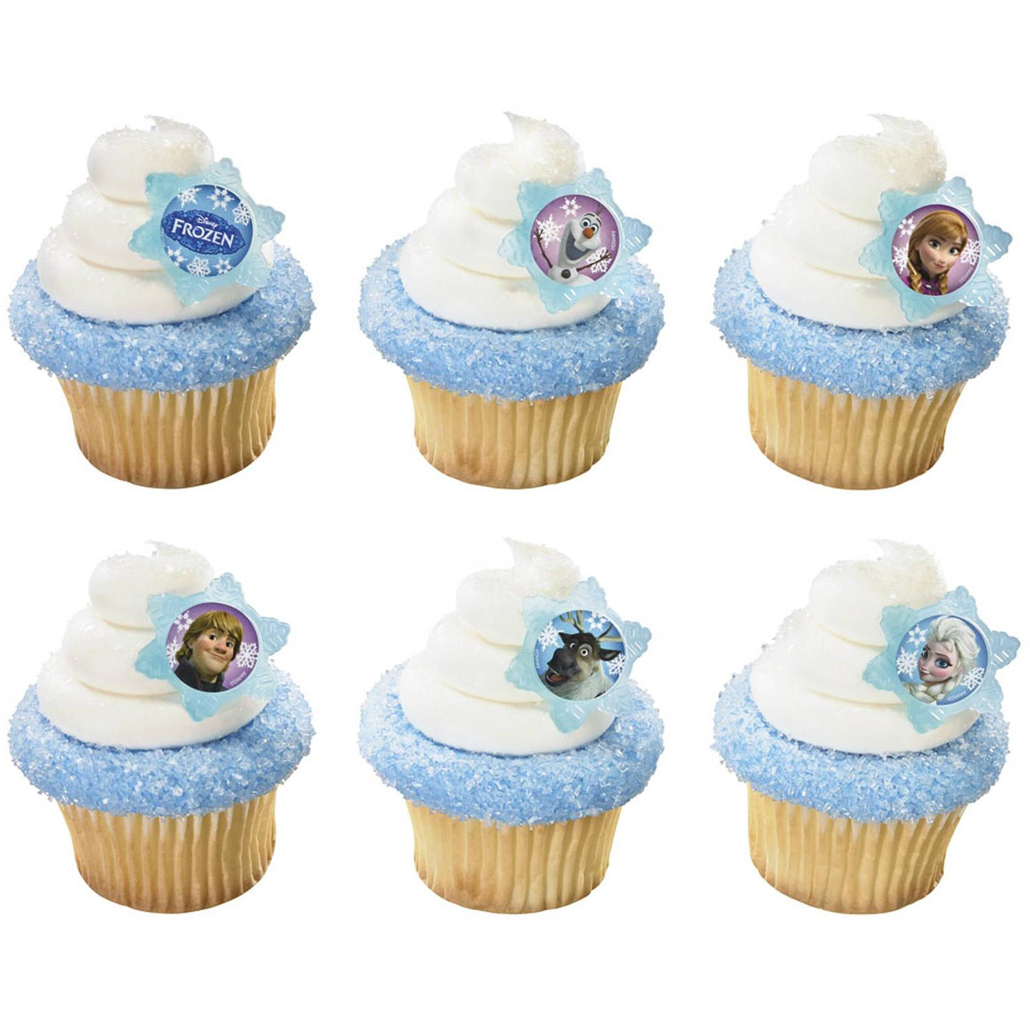SPECIAL ORDER CUPCAKES - RINGS-FROZEN-ADVENTURE FRIENDS