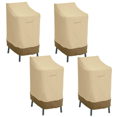 Classic Veranda Patio Bar Chair Stool Cover Resistant Patio Cover Pack