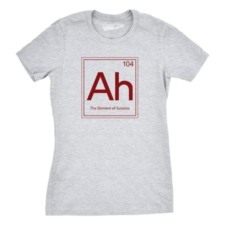 Element Ladies Shirt (Crazy Dog T-shirts Womens Element Of Surprise T Shirt)