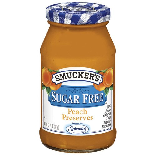 Smucker's: Peach Sugar Free Preserves, 12.75 Oz