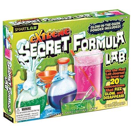 Dark Lab (Fun and Educational Tests Extreme Secret Formula Lab w/ Glow in the Dark)