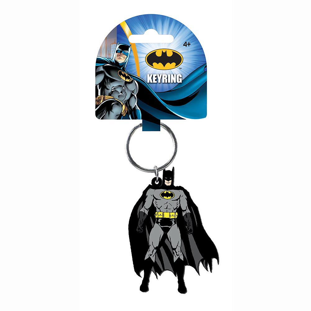 DC Comics Soft Touch Key Ring Batman Figure