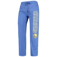 Golden State Warriors Concepts Sport Quest Open Leg Pants - Heathered Royal