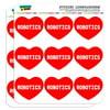 """I Love Heart - Sports Hobbies - Robotics - 2"""" Scrapbooking Crafting Stickers"""
