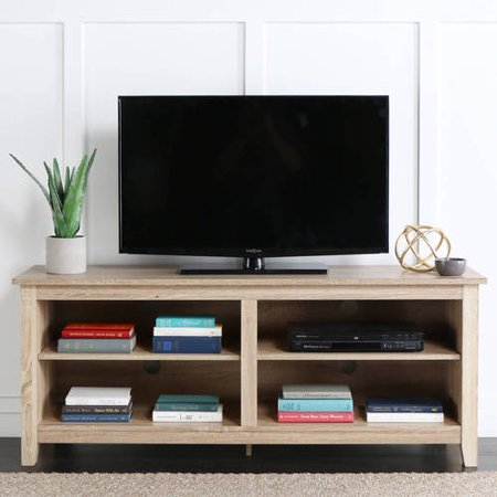 Wood Tv Stand For Tvs Up To 60 Multiple Finishes