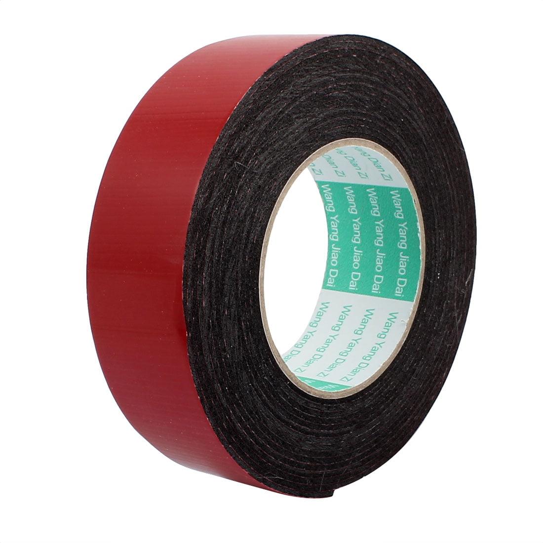 Door Seal 40x2mm Dual-side Adhesive Shockproof Sponge Foam Tape 5M Length