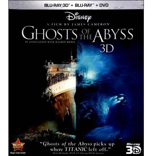 Ghosts Of The Abyss (3D Blu-ray + Blu-ray + DVD) (Widescreen)