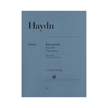 Haydn Flute - G. Henle Verlag Piano Trios - Volume III: Flute Trios Henle Music Folios Series Softcover Composed by Franz Joseph Haydn