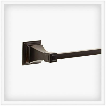 "Franklin Brass Lynwood 18"" Towel Bar, Venetian Bronze"