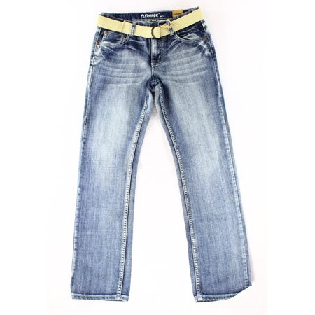 0bea3302b Flypaper - Flypaper NEW Washed Blue Boy's Size 18 Belted Straight ...