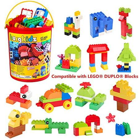 TUMAMA 150 Pcs Kids Toys Large Building Block Sets DIY Big Bricks Animals Creative Model Block Particles Bricks Educational Stem Toy Gifts Sets for Children 3 4 5 6 Years Old
