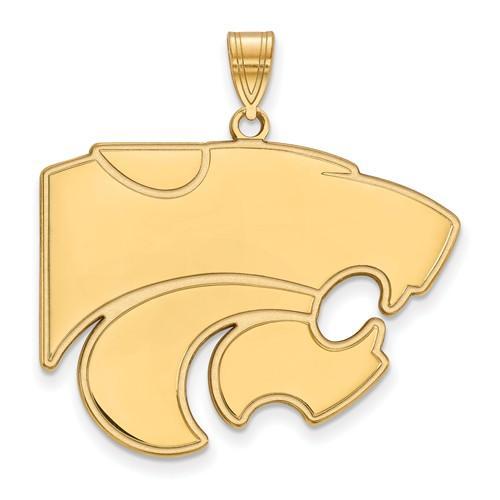 10ky LogoArt Kansas State University XL Pendant