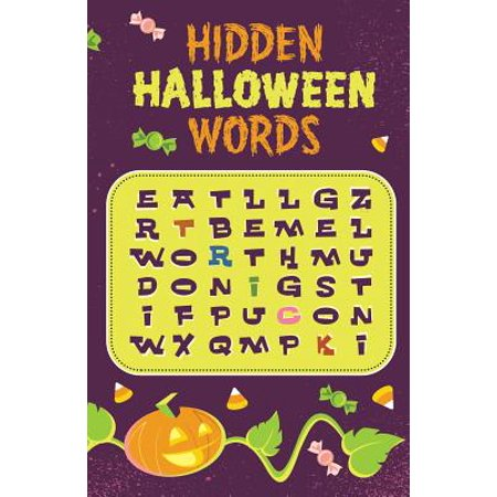 Hidden Halloween Words (Pack of 25) (Words That Start With B For Halloween)