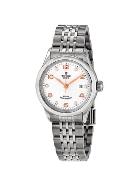 Tudor 1926 Automatic 28 mm Diamond Silver Dial Ladies Watch M91350-0003