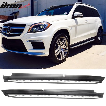 Ikon Motorsports Running Boards for 13-19 Benz GL-Class GLS OE Factory Style