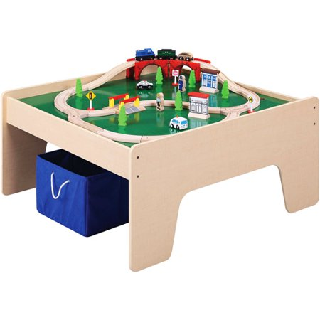 Activity Table With Train Set And Storage Box