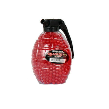 1,500 AIRSOFT BB GRENADE BOTTLE Pellets 6mm .12g BBs, Single