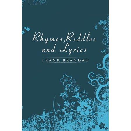 Rhymes, Riddles and Lyrics - eBook - Halloween Rhymes Lyrics
