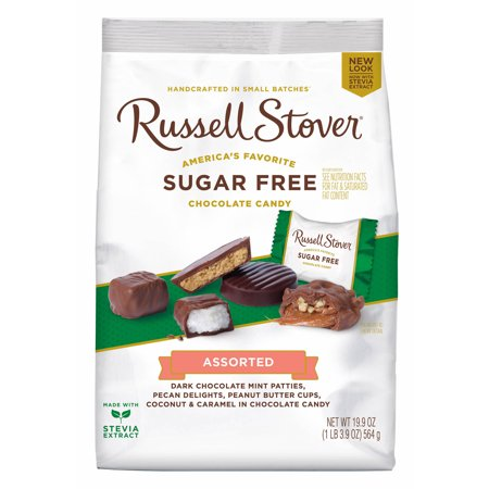 Russell Stover Assorted Sugar-Free Chocolate Candies, 19.9 oz](Candy Coal)