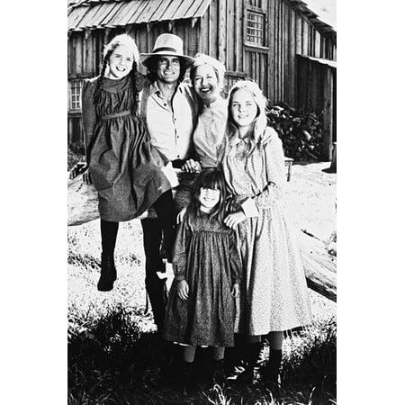 Melissa S Anderson, Melissa Gilbert, Karen Grassle, Lindsay Greenbush, Sidney Greenbush and Michael Landon in Little House on the Prairie 24x36 (Melissa Anderson From Little House On The Prairie)