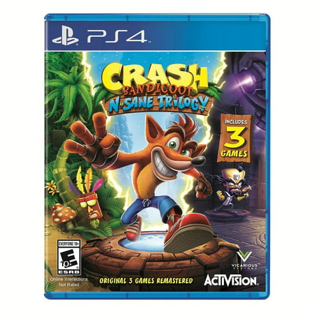 Activision Crash N. Sane Trilogy - Preowned (PS4) ()