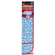 Auto Expressions Glitter Accordion Windshield Shade, Blue