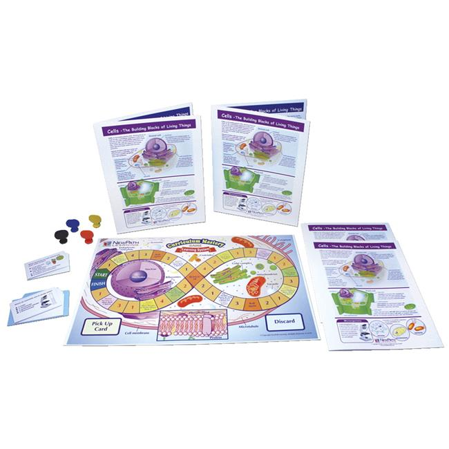 Newpath 1567043 Game Cells The Building Blocks of Living Things Learning Center, Grades 3-5