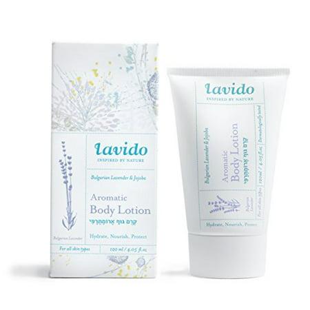 Lavido Natural Bulgarian Lavender and Jojoba Aromatic Body Lotion 4.05 fl. oz/120ml - image 1 of 1