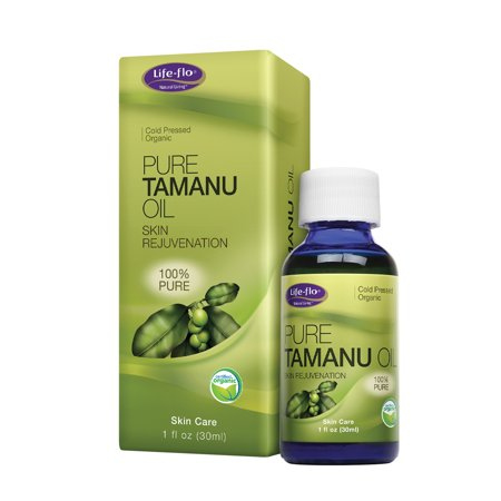 Life-flo Pure Organic Tamanu Oil | Skin Rejuvenator and Soothing Treatment for Skin, Scalp, Scars and Stretch Marks,