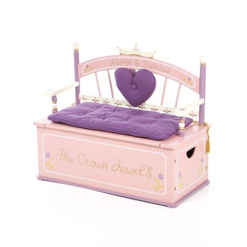 Wildkin Wildkin Kids Princess Bench Seat Storage