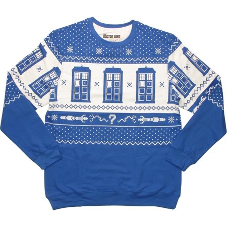 Tardis Jacket (TARDIS Royal Blue Christmas)