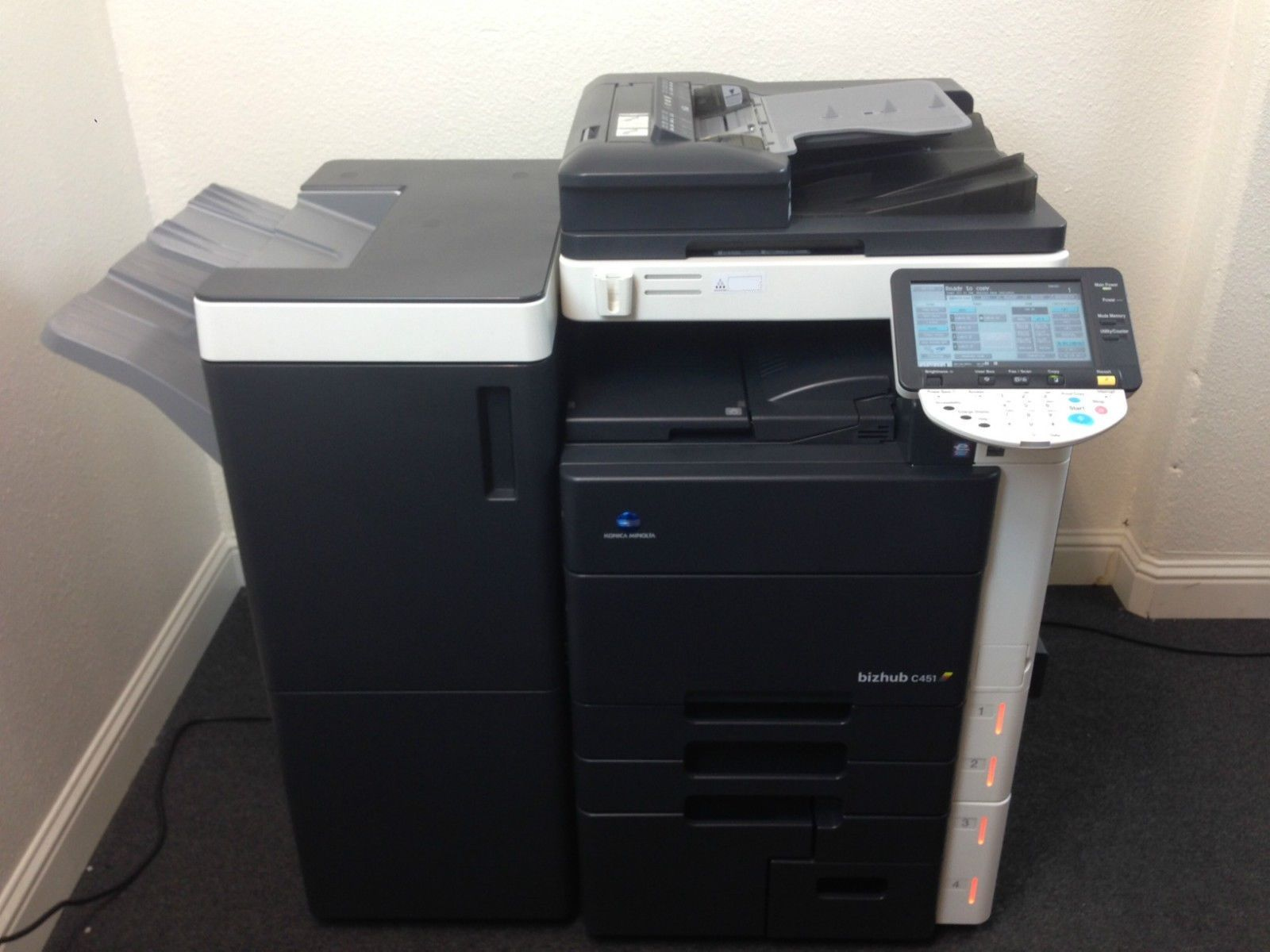 Konica Minolta Bizhub C451 Copier Printer Scanner Network FREE SHIPPING in USA by Konica Minolta