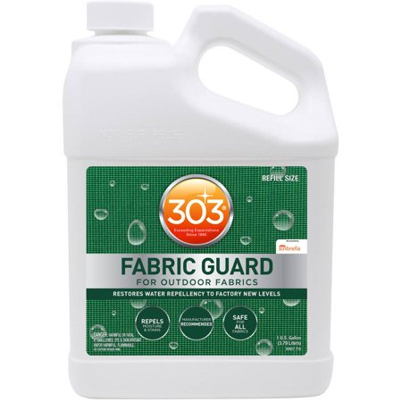 303 Fabric Guard and Upholstery Protector, Great for Patio Furniture, 128 fl. oz.