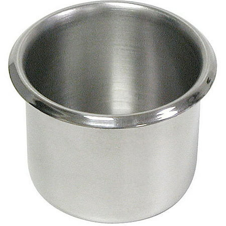 Poker Cup Holders - Trademark Poker Lot Of 10 Stainless Steel Cup Holders