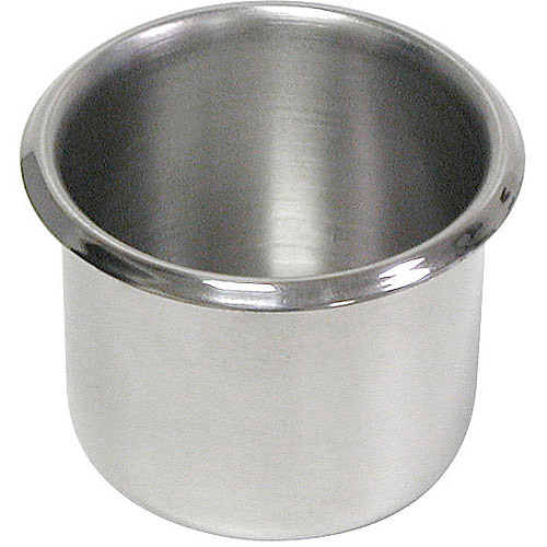10-Pack of Small Stainless Steel Cup Holder For Poker Table and Boat /& RV Car