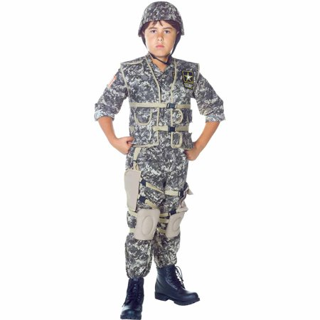 U.S. Army Ranger Child Halloween Costume (Funny Army Costume)