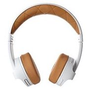 Refurbished  iFrogz IFIMPH-WT0 Impulse Full Bluetooth Headphone with Mic - White, Brown
