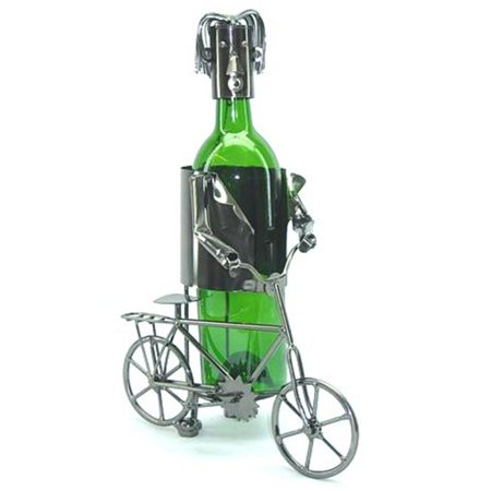 Three Star ZB710 Wine Bottle Holder - Bicyclist for $<!---->