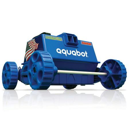 Aquabot Pool Rover Junior/Jr. Above Ground Swimming Pool Robot Cleaner | APRVJR (The Pool Cleaner 2 Wheel)