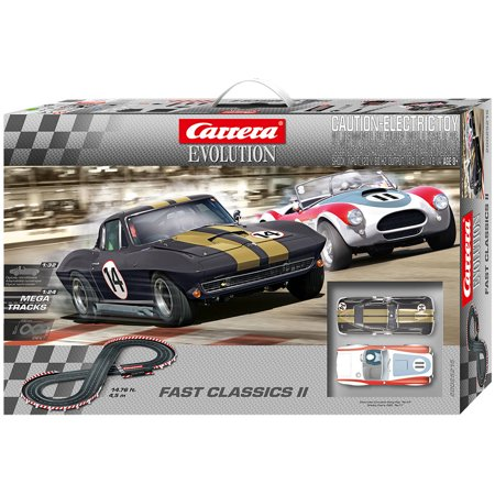 carrera fast classics ii evolution 1 32 scale slot car. Black Bedroom Furniture Sets. Home Design Ideas